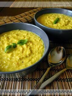 czyli o tym, że zdrowe jedzenie nie musi być nudne :): Zupa krem z kukurydzy