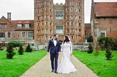 Couple portraits at Layer Marney Essex Wedding by Anesta Broad Photography