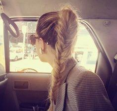 fishtail braid. ♡