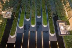 Urban Design, Modern Design, Tree Grate, Pocket Garden, Urban Park, Landscape Architecture Design, Contemporary Landscape, Master Plan, Water Features