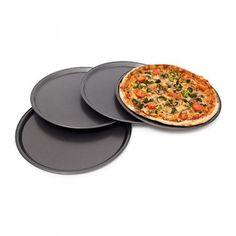 6 Pizza Gerichte Margherita Durchmesser 33 Cm bunte Keramik