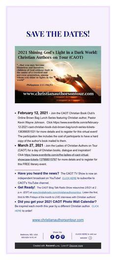 Wayne Johnson, Book Club Books, Save The Date, Authors, Tours, Christian, Pastor, Wedding Invitation, Christians
