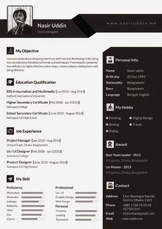Cool Resume  Cv Designs  Discover More Ideas About Cv Design