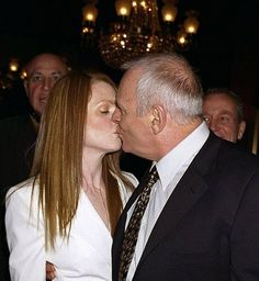 Anthony Hopkins and Julianne Moore (Hannibal Lecter and Clarice)