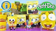 Play Doh Spongebob Squarepants Mystery Figure Toys Imaginext Pirate Ship...