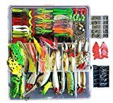 Topconcpt Freshwater Fishing Lures Kit Fishing Tackle Box with Tackle included Frog Lures Fishing Spoons Saltwater Pencil Bait Grasshopper Lures for Bass Trout Bass Salmon Bass Fishing Lures, Fishing Rods And Reels, Crappie Fishing, Fishing Bait, Saltwater Fishing, Sea Fishing, Fishing Tackle Box, Bait And Tackle, Fishing Tips