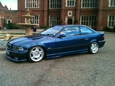 BMW E36 M3 right wheels, mine was anthrazit metallic though, such fun on the german autobahn