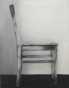 Gerhard Richter ~ Chair in Profile, 1965 https://www.pinterest.com/judewaller/art-gerhard-richter/