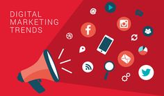 DIGITAL MARKETING TRENDS 2015 - Check out the latest trends in the Online Marketing Business. #Development #Infographic #Hurracom