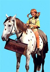 Pippi Langstrumpf und der Kleine Onkel als Postkarte Pippi Longstocking, Classic Series, Poster Vintage, Character Development, 90s Kids, Old Tv, Wild Child, Beautiful Creatures, Childhood Memories