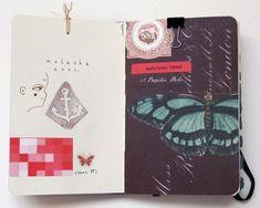 немного разворотов из моего дневника (это не скетчбук, если что) стр.…: art_expiration