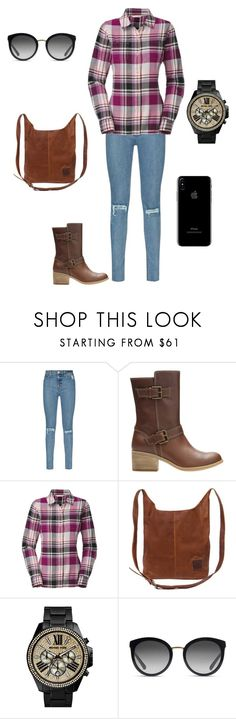"""Casual"" by disfan ❤ liked on Polyvore featuring Hudson, Clarks, The North Face, MICHAEL Michael Kors and Dolce&Gabbana"