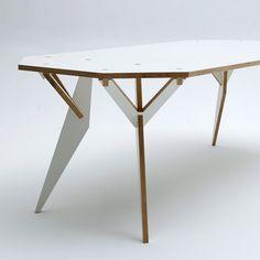 Y Parametric table by Krystian Kwieciński