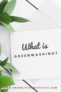 You've heard the term 'Greenwashing' but you are not really sure what it means. Check out this guide for the answers .What is Greenwashing? A deeper look. Sustainable Living, Sustainable Fashion, Eco Friendly Cleaning Products, Eco Friendly House, Living At Home, Clean Living, Clean Beauty, Natural Living, At Least