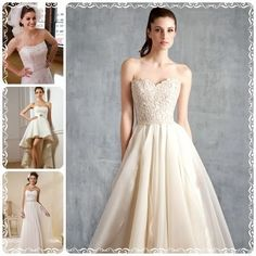 Read This First Before Picking Strapless Wedding Dress on http://www.weddingyuki.com/2015/04/read-this-first-before-picking.html