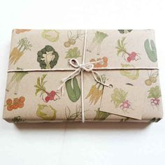 Vegetable Gift Wrap
