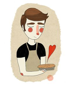 The Piemaker by Nan Lawson (pushing daisies)