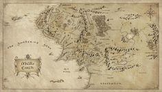 The Hobbit: Map from the book