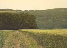 "Benoît Trimborn > Colline, 2013, Oil on Canvas, 44¾"" x 63¾"""