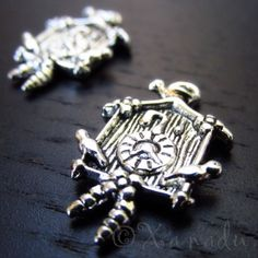 Cuckoo Clock Wholesale Antique Silver Plated Charms C0960 - 5/10/20