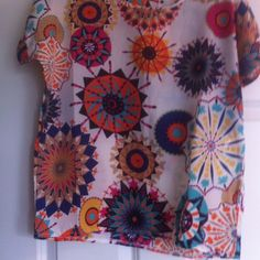 $10...Blouse... New Women sunflowers Tops Blouses