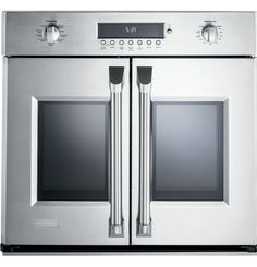 "ZET1FHSS - Monogram® 30"" Professional French-Door Electronic Convection Single Wall Oven - The Monogram Collection"