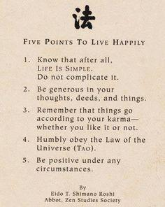 Zen seems so simple