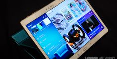 Best Android tablets - Android Authority - Samsung Galaxy Tab S 10.5 - Like the Tab S 8.4, the Tab S 10.5 gives you a beautiful high-resolution AMOLED display that is ideal for consuming media. Everything is in a bigger package, so if a large screen is on your priorities list, the Galaxy Tab S 10.5 is the ideal choice from our list of best Android tablets. Despite its generous dimensions, the Tab S 10.5 is easy to handle, weighing a little over a pound