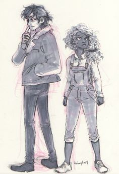 Nico and Hazel (I like the fresh perspective and clothing choices) :)