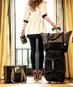 Cinda B luggage, totes, and accessories are 40% off while supplies last! Made in the USA, these pieces are water-resistant, durable and lightweight, perfect for your active lifestyle!