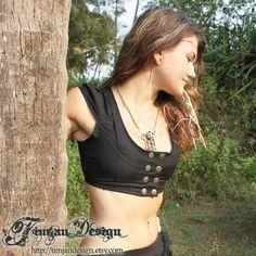Amber linen vest  Charcoal black by TimjanDesign on Etsy, kr400.00