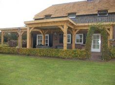Koen siebers tuinprojecten tuinaanleg tuinonderhoud tuindomotica hovenier projecten - Veranda met dakpan ...