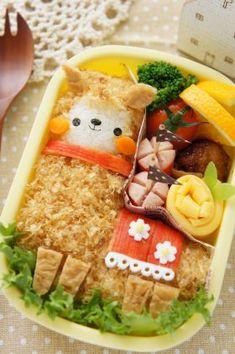 Alpaca Kyaraben Bento Lunch © naohahaさんの弁当