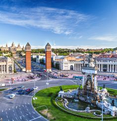 Take in the sights of Barcelona, Spain.