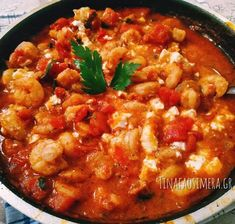 Cookbook Recipes, Cooking Recipes, Good Food, Yummy Food, Food Decoration, Greek Recipes, Chana Masala, Seafood, Salads
