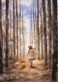 겨울나무 사이로 (Through the winter trees), Aeppol