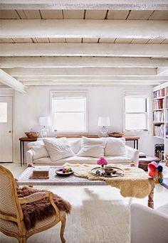 EN MI ESPACIO VITAL: Muebles Recuperados y Decoración Vintage: Quedamos en un salón {Let's meet at the living room}