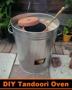 DIY Tandoori Oven - make your own delicious tandoori chicken in your backyard #diy
