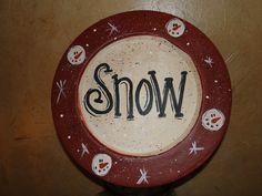 Snow plate