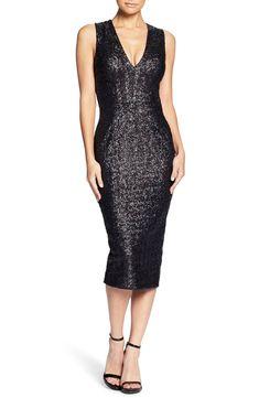 c6c74d73b71 Dress the Population Rani Open Back Sequin Dress
