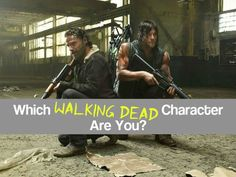 Which Walking Dead Character Are You? I got Maggie :)