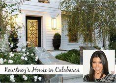 Kourtney Kardashian and Scott Disick's house for sale Calabasas CA