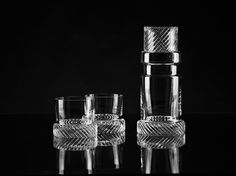 BOMMA Module Two Collection Crystal Whiskey Tumbler 12 oz - Set of 2 – The Elegant Bar