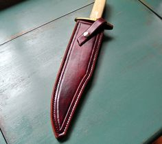 Classic Leather Knife Sheath by Stronghorseleather on Etsy