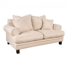 Lisette 2.5 Seater Sofa Linen - Fabric Lounges - Upholstery