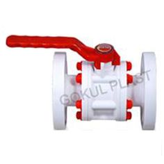 The PP Industrial Valves are ideally designed to be used in various industries for regulating the flow of viscous and non viscous fluids. These valves are manufactured using graded polypropylene material in different sizes, dimensions and finishes. Owing to their high performance and longer service life, these valves are used in paper, sugar, fertilizer, chemical, nuclear plants, refineries and petroleum industries for controlling the flow of fluids.
