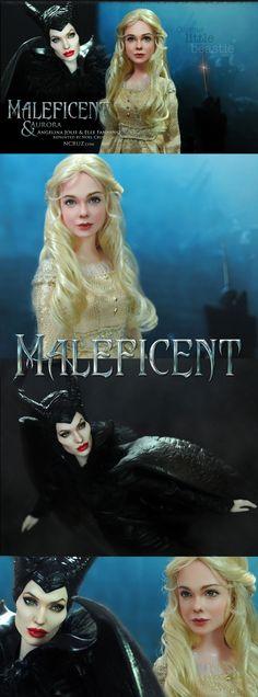 ::||www.ncruz.com::|| Angelina Jolie as MALEFICENT by Noel Cruz