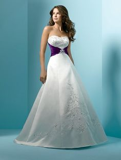 Another dress by Michael Angelo. I like the purple detail
