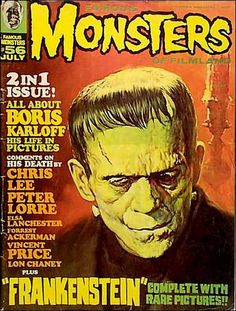 Famous Monsters of Filmland Magazine