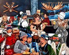 12-Beaux tableaux de Isabelle Desrochers